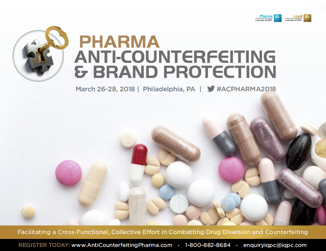 2018 Pharma Anti-Counterfeiting Agenda