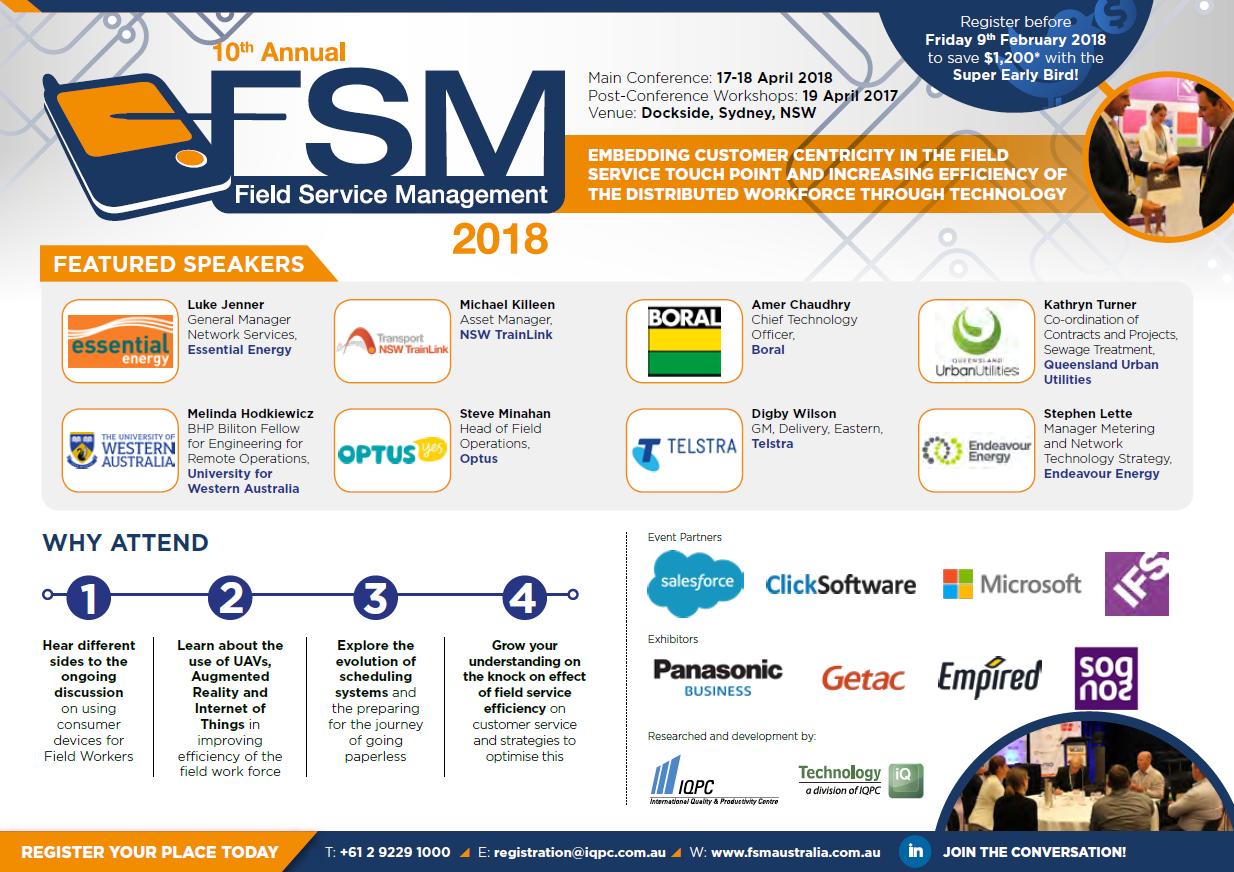 FSM 2018 Sponsorship Agenda