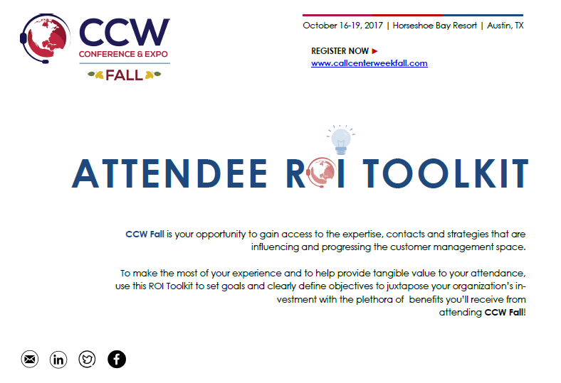 CCW Fall ROI Toolkit