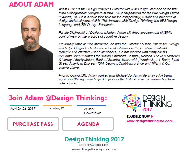 Speaker Feature: Adam Cutler