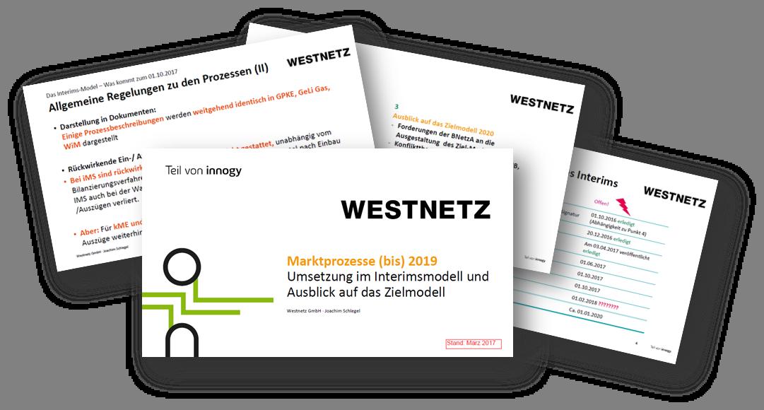 Marktprozesse bis 2019 - Umsetzung im Interimsmodell und Ausblick auf das Zielmodell