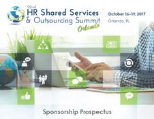 HR Shared Services & Outsourcing - Sponsorship Prospectus