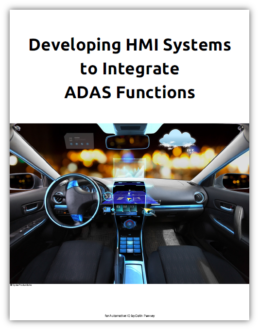 HMI 2.0 requirements for successful implementation of next-gen ADAS functions