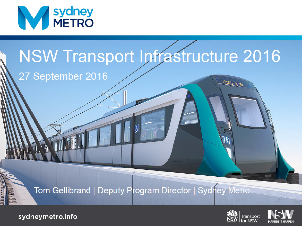 Sydney Metro Northwest Update
