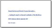 Shared Services and RPA - Leading the way for enhanced localization of workforce