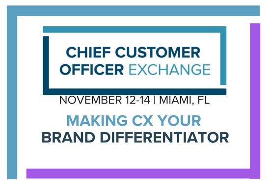 Chief Customer Officer Exchange Agenda