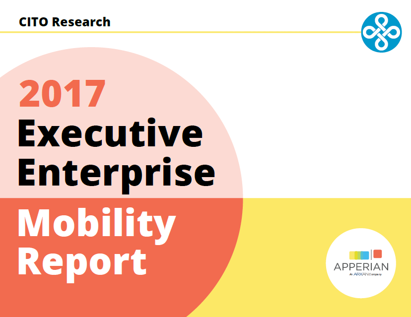 Apperian 2017 Executive Enterprise Mobility Report