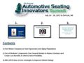 2017 Automotive Seating Presentation Package