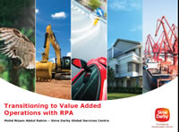 Transitioning to Value Added Operations with RPA