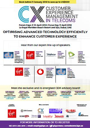 Brochure - 7th Annual CEM in Telecoms Middle East Summit