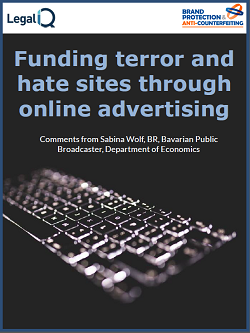 Funding terror and hate sites through online advertising