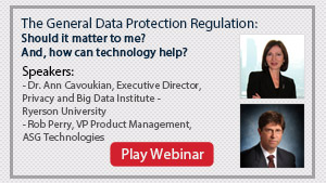 The General Data Protection Regulation: Should it matter to me? And, how can technology help?