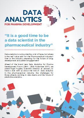 It's a good time to be a data scientist in the pharmaceutical industry