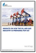 Insights on how the oil and gas industry is preparing for VAT