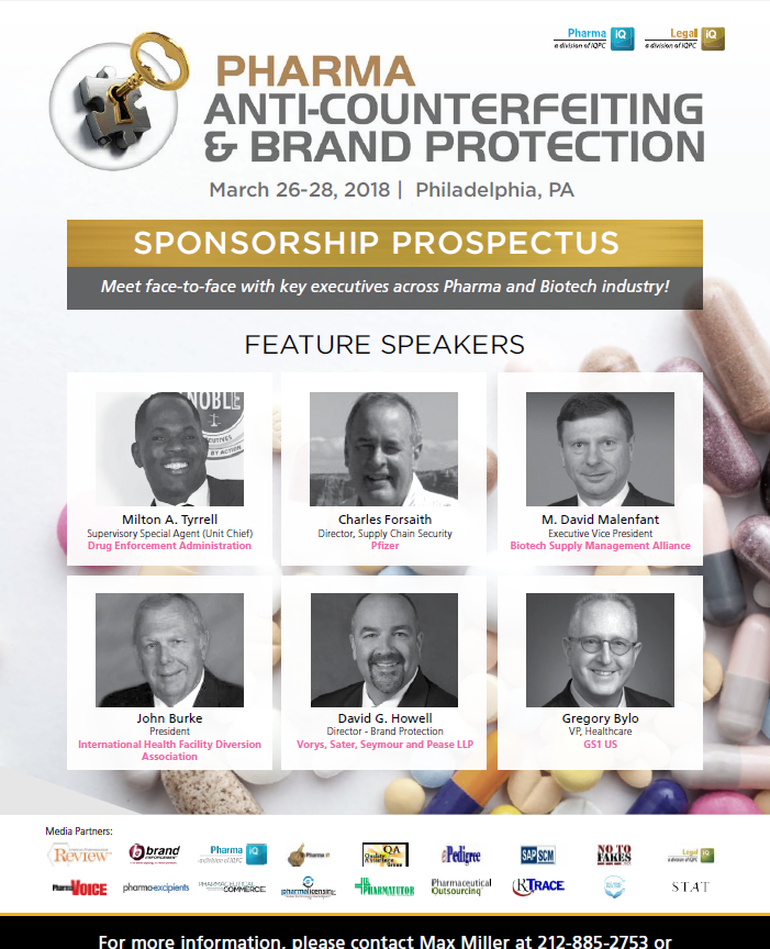Pharma Anti-Counterfeiting - SPONSORSHIP PROSPECTUS