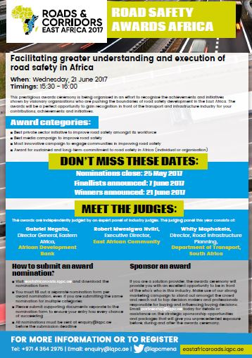 Nomination Form: Road Safety Awards Africa