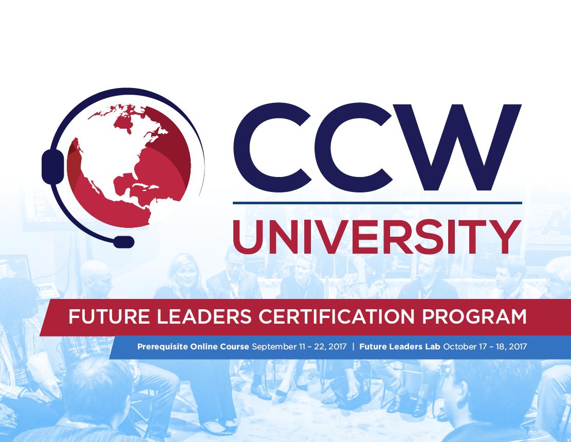 CCW University Brochure