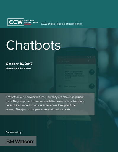 CCW Digital Special Report - Chatbot