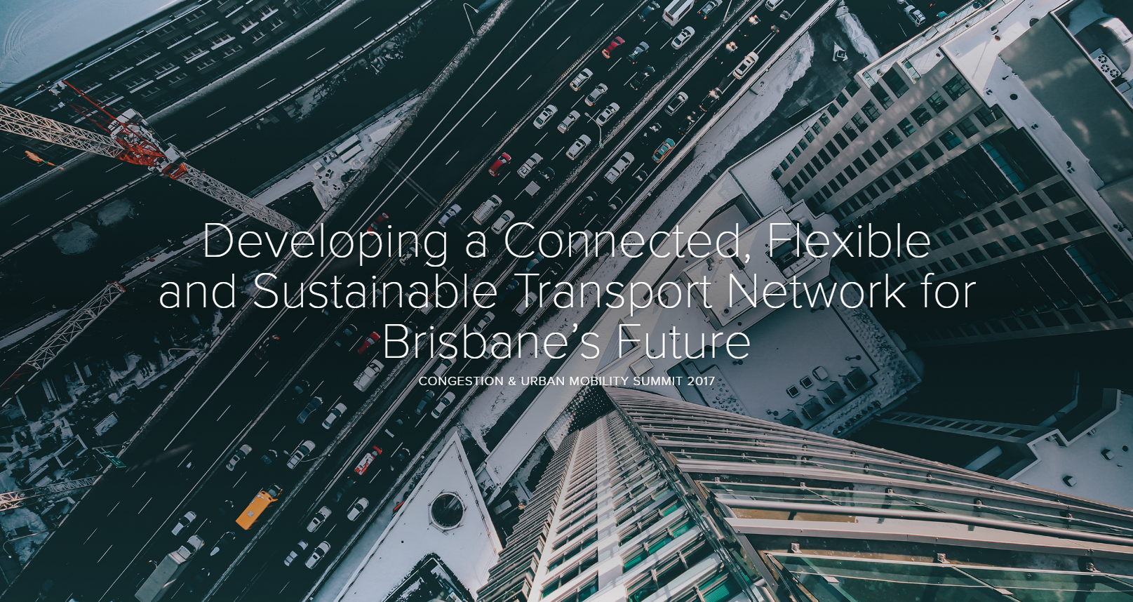 Developing a Connected, Flexible and Sustainable Transport Network for Brisbane's Future
