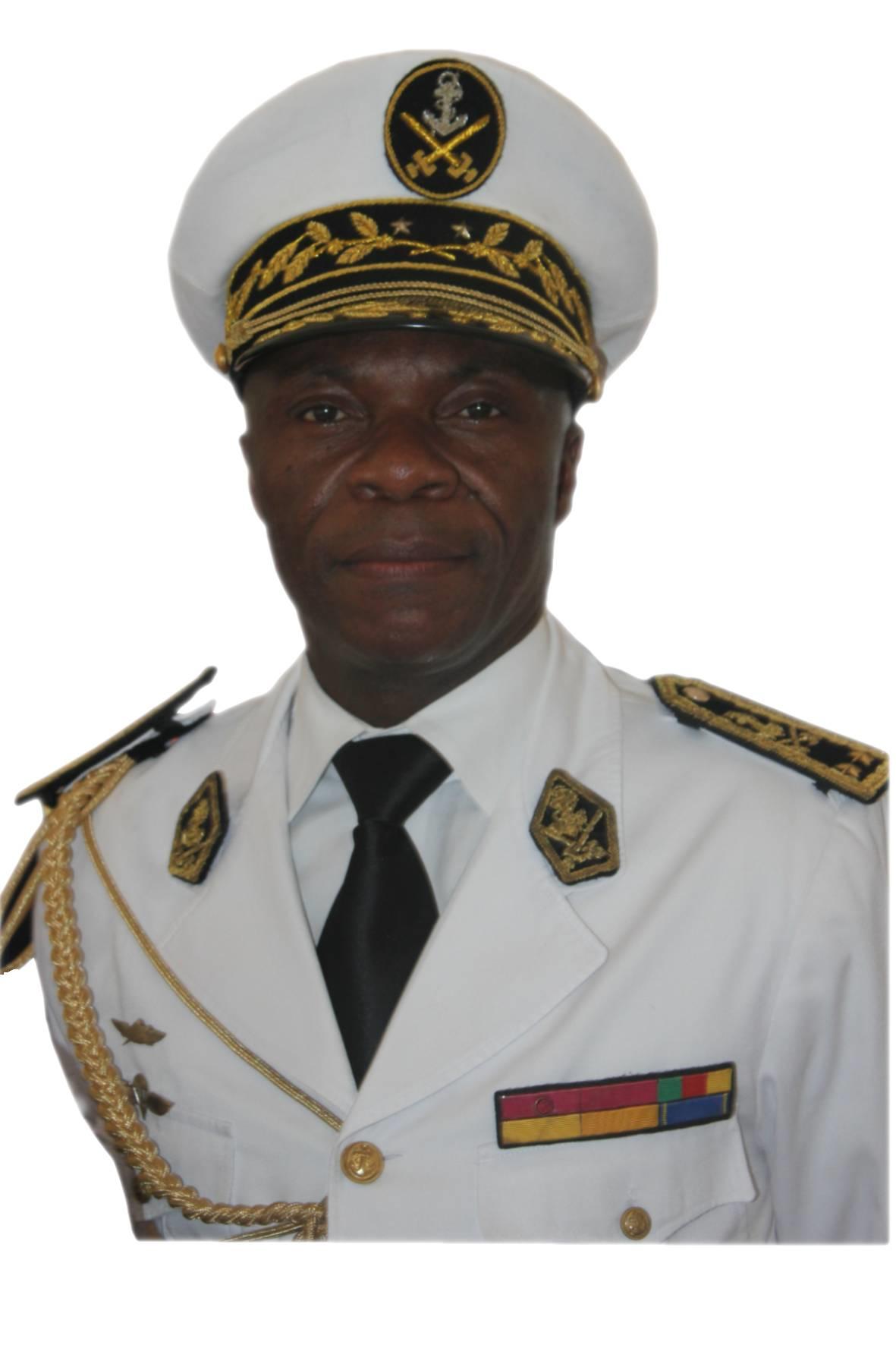 Rear Admiral  Jean  Mendoua