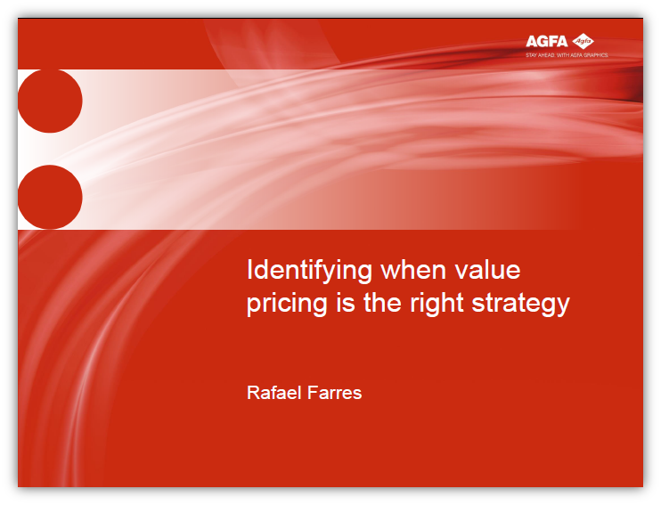 Identifying when value pricing is the right strategy