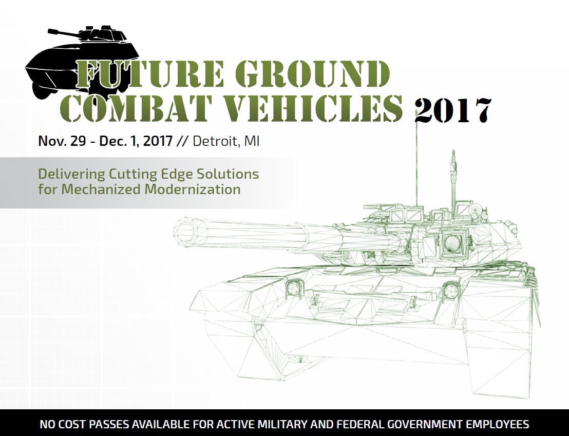 3rd Future Ground Combat Vehicles Agenda