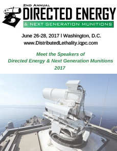 Directed Energy & Next Generation Munitions Speaker e-Book