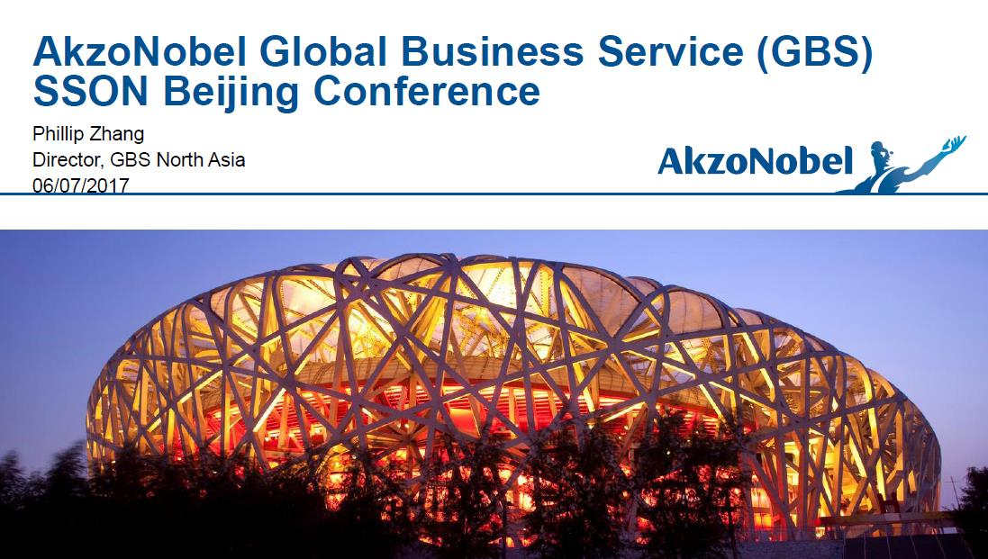 How AkzoNobel Generate a Roadmap to Global Business Services(GBS) & Multi-function Services Success