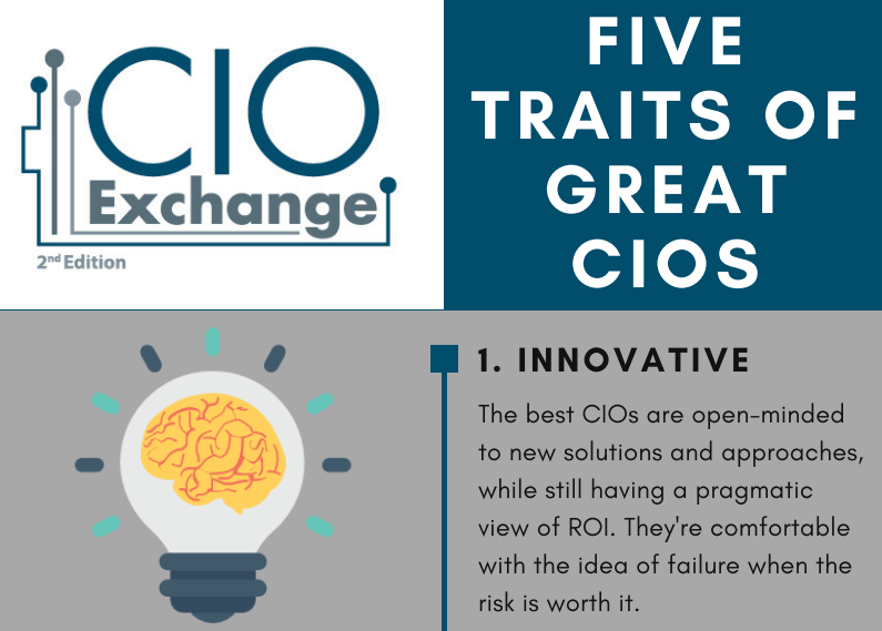Five Traits of Great CIOs [Infographic]