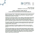 PRESS RELEASE: OPTEL ACQUIRES VERIFY BRAND