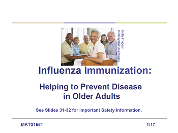 Influenza Immunization: Helping to Prevent Disease in Older Adults