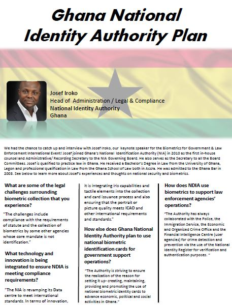 Ghana National Identity Authority Plan