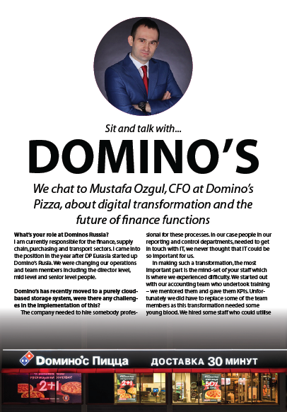 Future of Finance Sit and Chat with Domino's Pizza