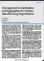 One Approach to Serialization and Aggregation for Contract Manufacturing Organizations