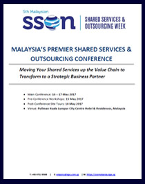 Attendees of 5th Malaysian Shared Services & Outsourcing Week 2017