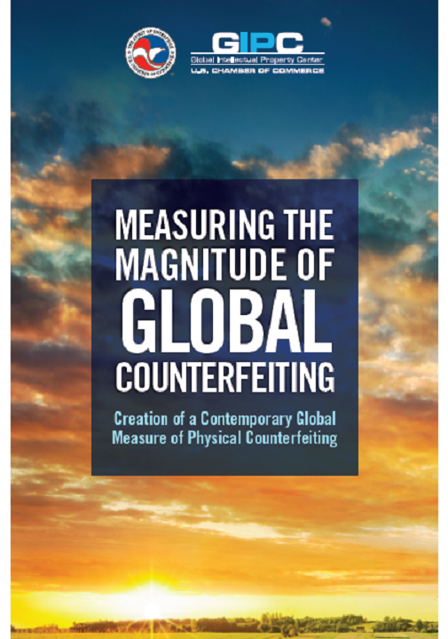 Measuring the Magnitude of Global Counterfeiting