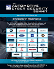 5th Automotive Cyber Security - Sponsorship Propsectus