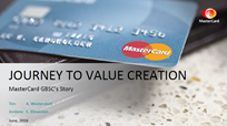 MasterCard's Journey to Value Creation