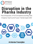 Disruption in the Pharma Industry