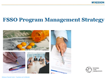 McKesson's Strategy for FSSO Program Management