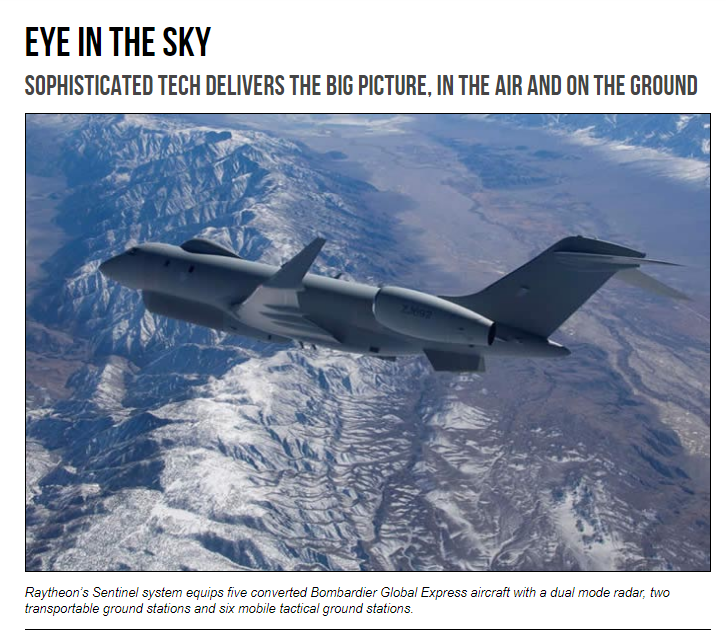 Raytheon - Eye in the sky Sophisticated tech delivers the big picture, in the air and on the ground