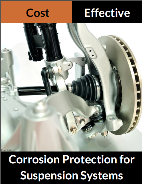 Cost effective corrosion protection for suspension systems