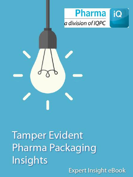 Tamper Evidence in Pharma Packaging - Expert Insight eBook