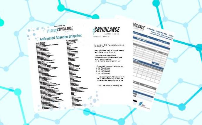 Registration Packet - Pharmacovigilance 2018
