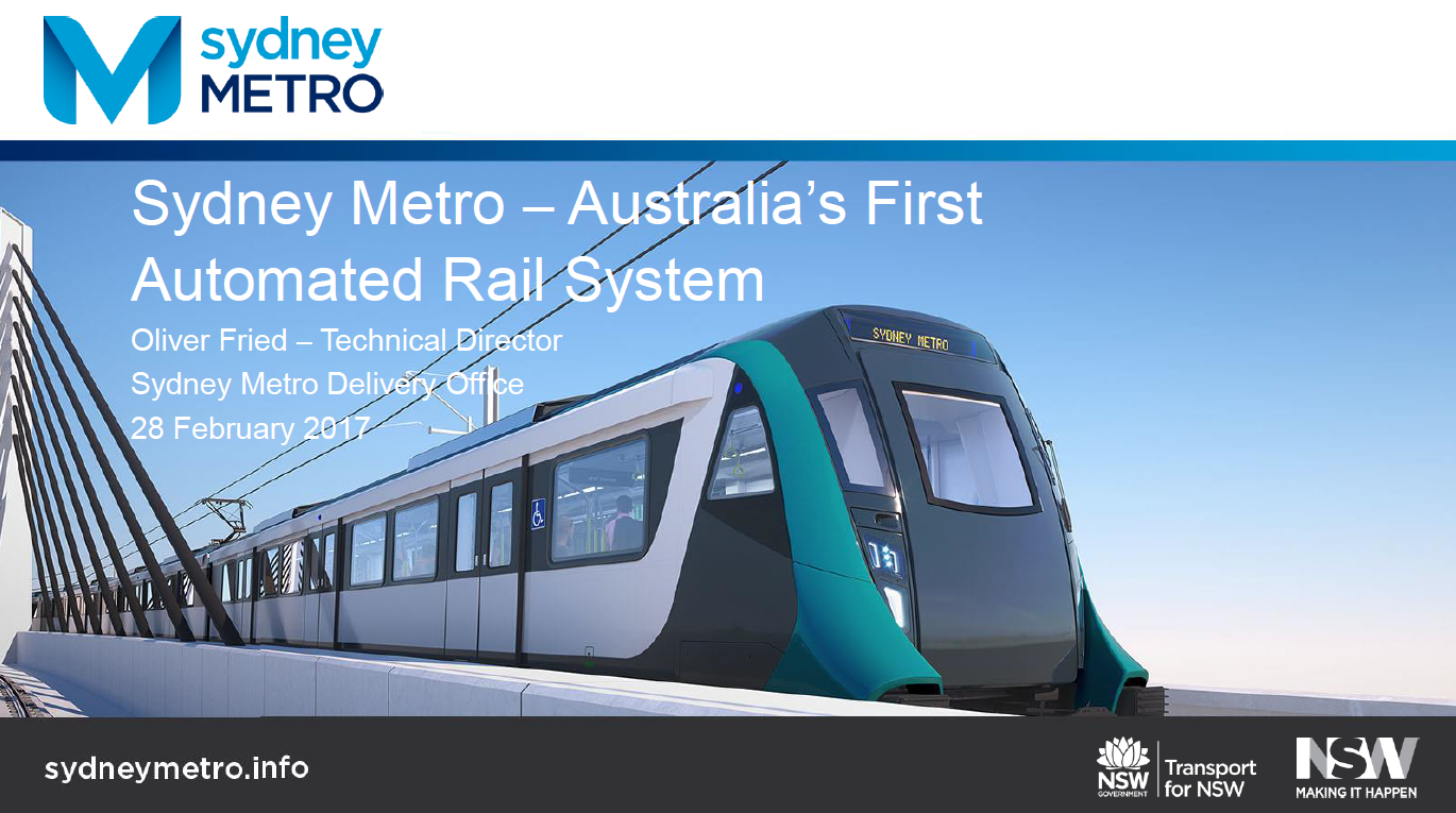 Sydney Metro North-West Rail Link: Australia's First Automated Rail System