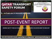 Post-Event Report: Qatar Transport Safety Forum 2016