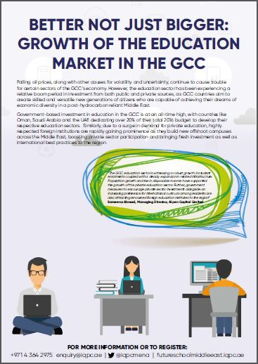 Growth of the education sector in the GCC