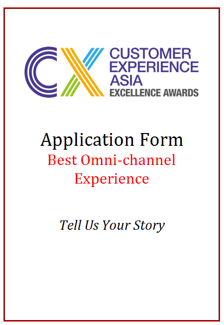 CEM Award Application Form - Best Omni-channel Experience