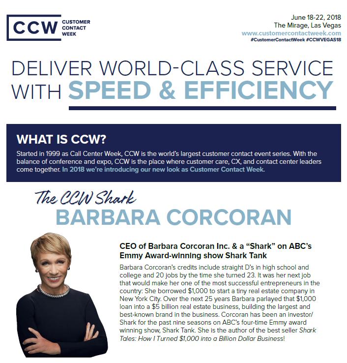 Customer Contact Week Vegas: Early Intel (Spex)