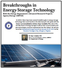 Breakthroughs in  Energy-Storage Technology